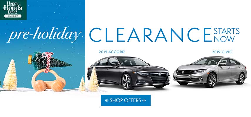 Pre-Holiday Clearance