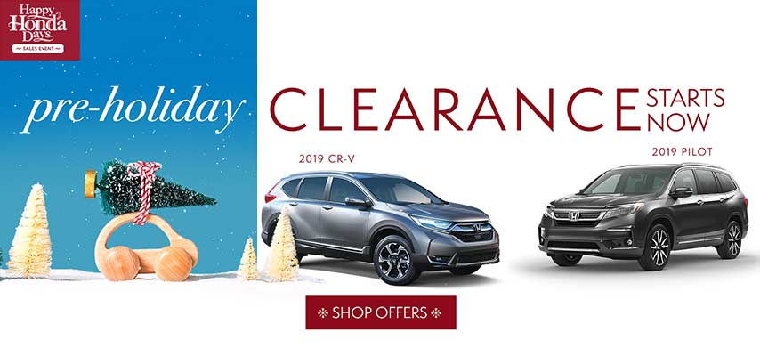 Pre-Holiday Clearance SUVs