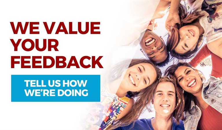 We Value Your Feedback