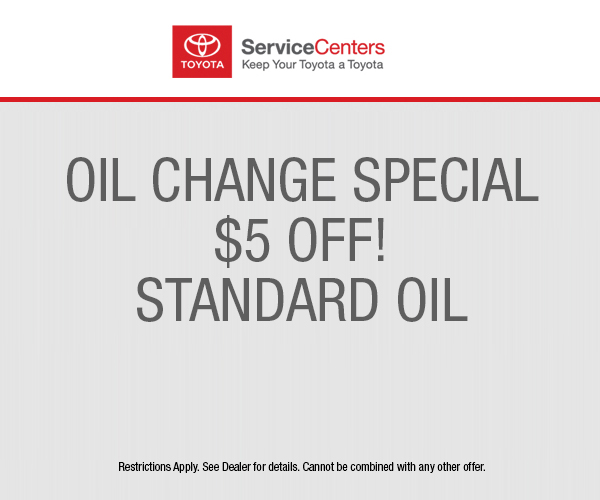 Toyota Oil Change Coupon >> Oil Change Toyota Dealer In Los Angeles Ca Keyes Toyota
