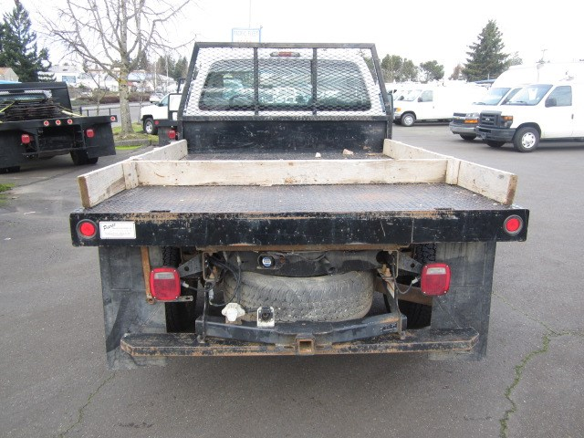 2011 Ford F350 4x4 8ft Flatbed
