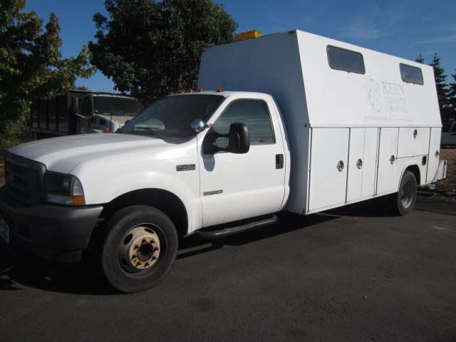 2003 Ford F450 14ft Covered Service Body