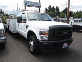 2009 Ford F350 Extd Cab 4x4 11ft Service Body