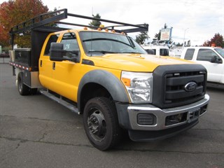 2012 Ford F450 Crew Cab 10ft Flatbed