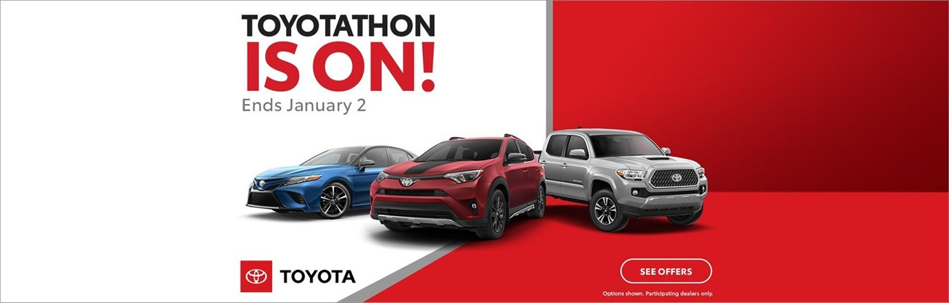 Toyotathon Is On December 2018