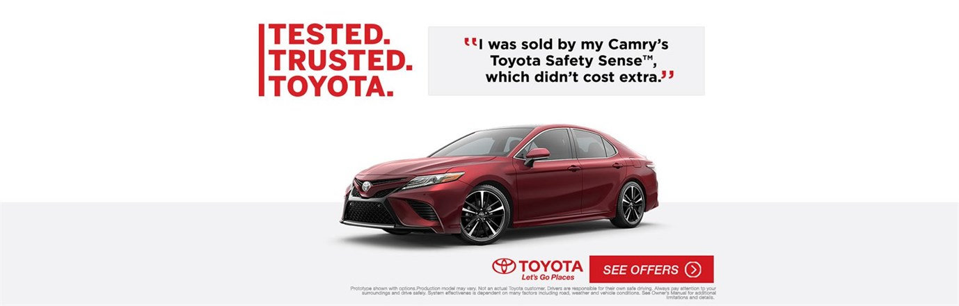Tested Trusted Toyota Camry