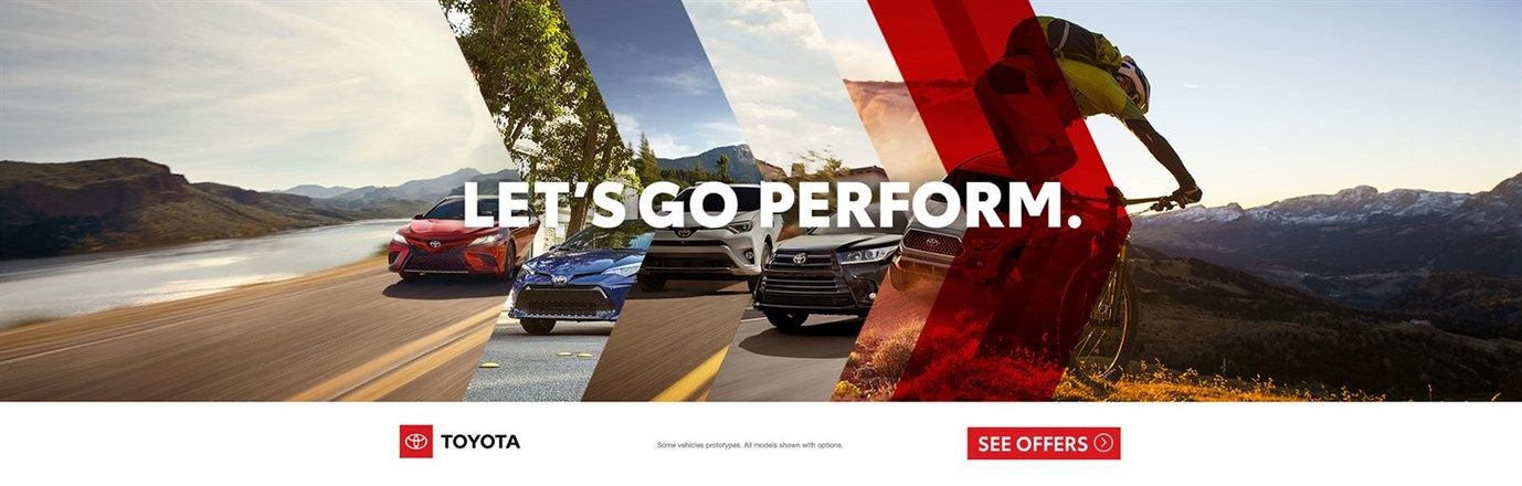 Toyota Lets Go Perform 2018