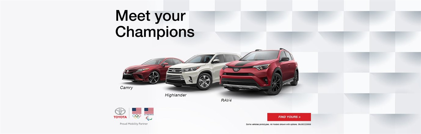 Meet Your Toyota Champions