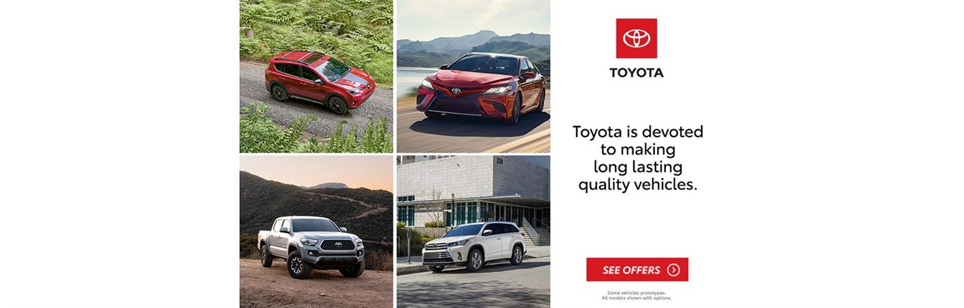 Toyota Long Lasting Quality 2018