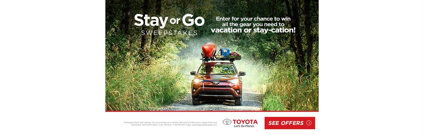Stay or Go in the new RAV4!