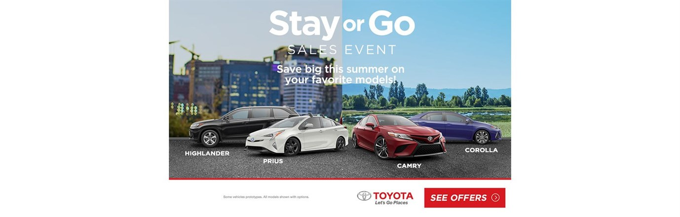 Save Big this Summer On Your Favorite Models