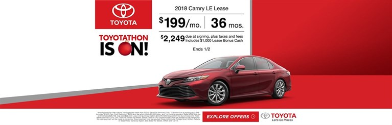 Camry Lease 2k