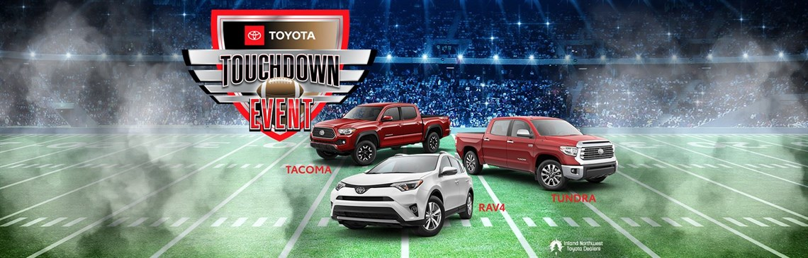 Touchdown Event with Tacoma, Tundra, and RAV4