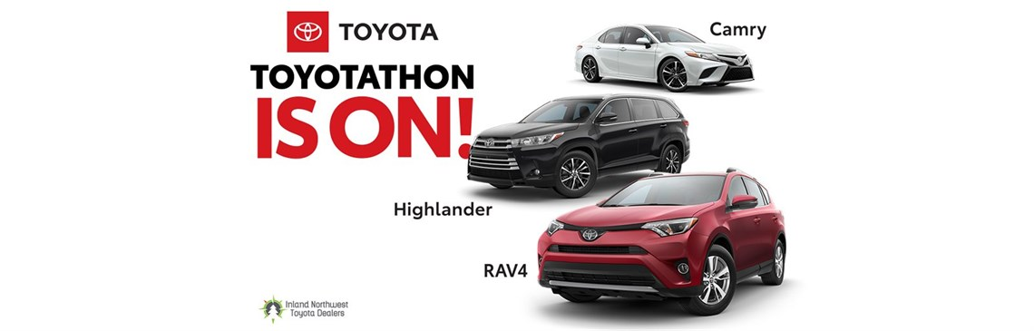 Toyotathon Is On with Highlander, Camry, and RAV4