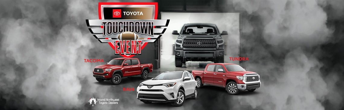Touchdown Tunnel Event with Tundra, RAV4, and Tacoma