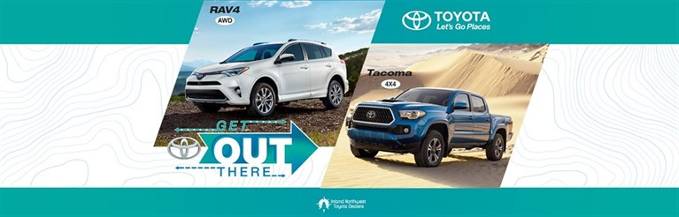 Toyota Get Out There