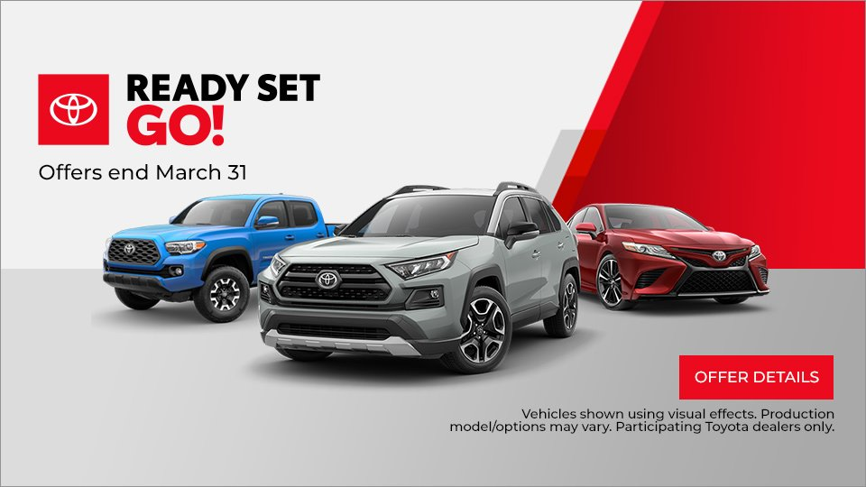 Toyota, Ready Set Go, Sales Event