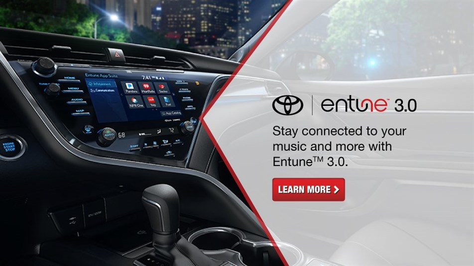 Entune 30, Entune 3.0, Stay Connected To Your Music