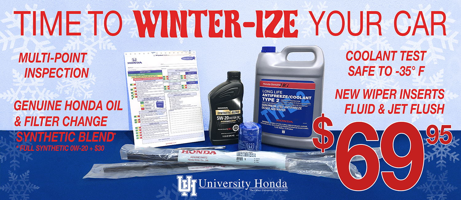 time to winter-ize your car