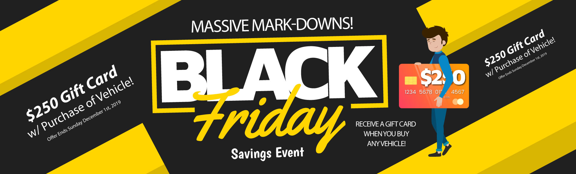 Black Friday Savings Event